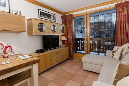14A 2 Bedroom ski in/out apt - La Plagne Montalbert