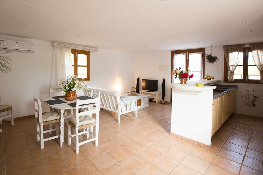 salón comedor-cocina / dinning room-kitchen