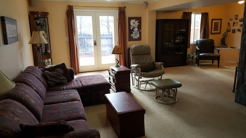 Guest suite with private entry & kitchenette 1-3 - Littleton - Casa