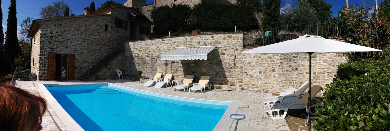 Il Castelletto - Rustic Tuscan Home - Brancialino - Talo