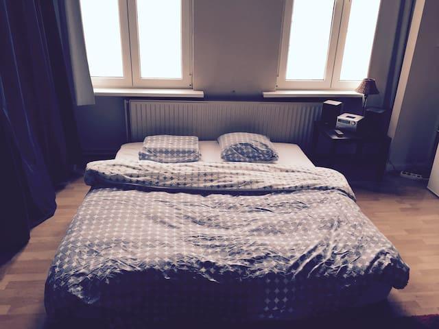 licht groot huis met tuin te huur wegens verhuis - Antwerpen - Haus