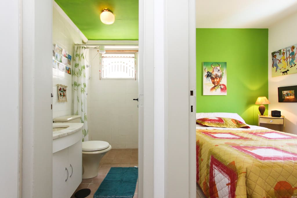 Rest room and bed room