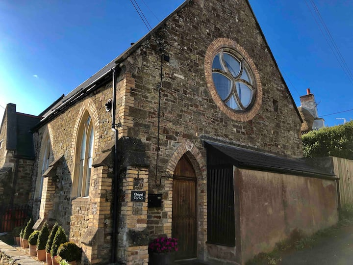 Quirky, comfortable, converted Chapel