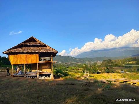 Cozy Stay Bamboo House : O-PO homestay โอ๋โปโฮมสเตย์