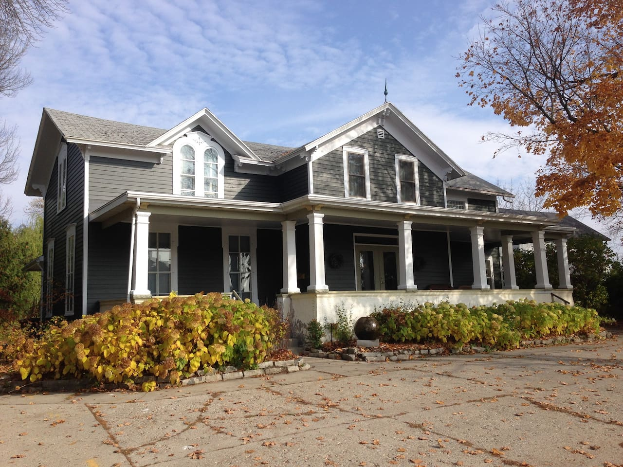 Our beautiful home in Sturgeon Bay WI.