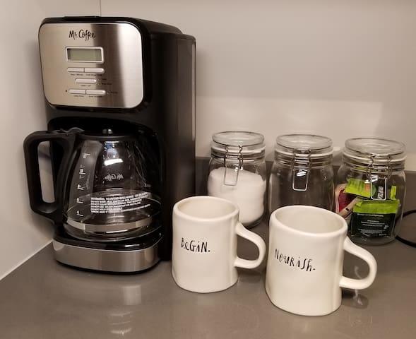 Coffee/Tea included