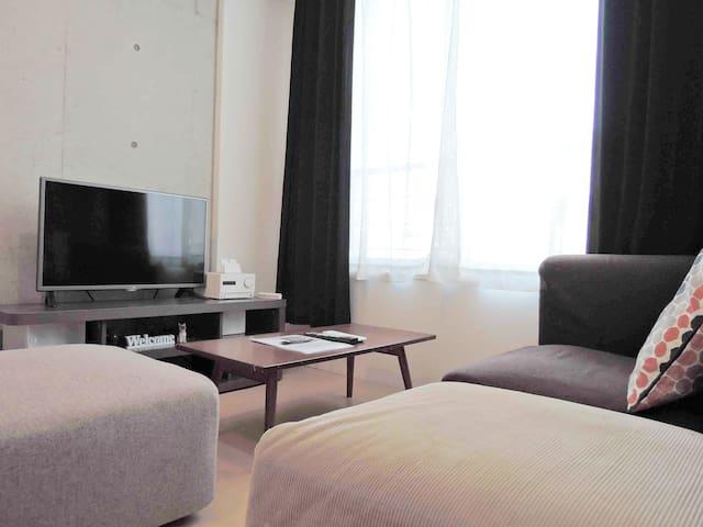 Modern and Spacious Apartment Hakata