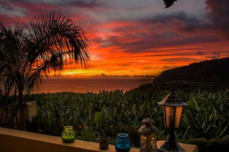 amazing sunsets from your veranda - Tazacorte