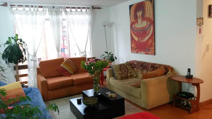 Apartamento Chapinero Alto (2/3 personas)...