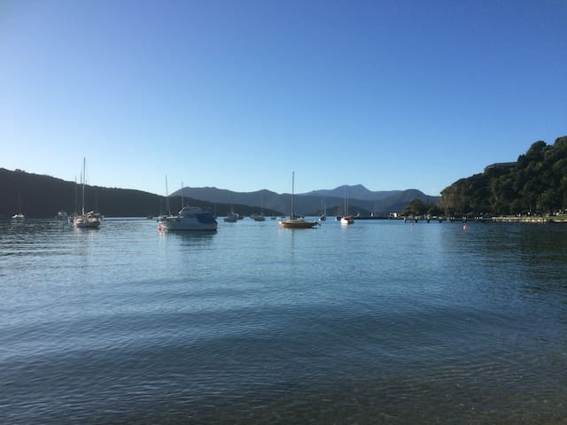 Slipway, Picton Waikawa Bay, B&B