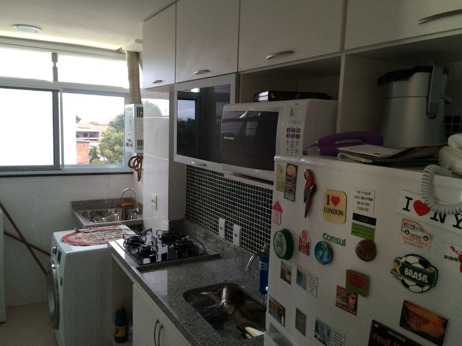 Cozinha + area de serviço