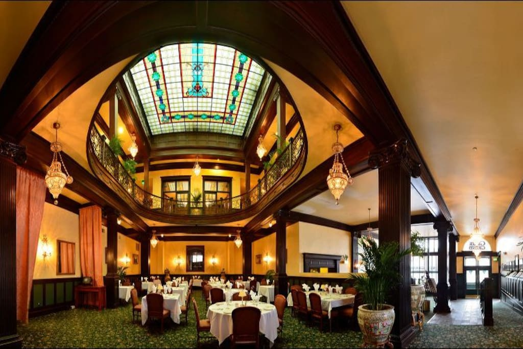The Palm Court and Lobby