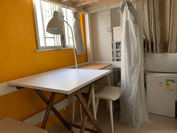 Girl Only•Loft Bed+Co-Living Home•Fully Furnished