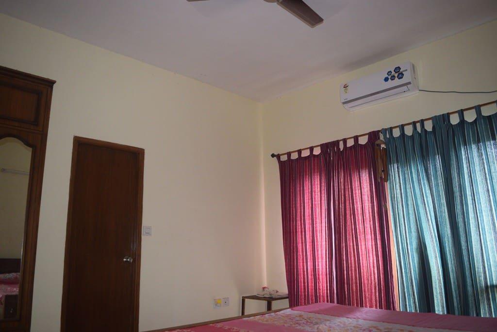 Bedroom 1 - AC.