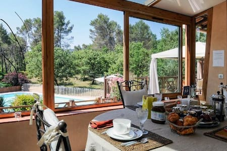 1 or 2 Room(s) 2-4 people, with breakfast - Gréasque