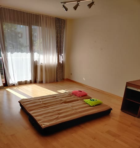 A flat with one bed in Munich city centre