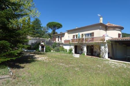 Anduze  cevennes en pleine nature idéal enfants - Saint-Sébastien-d'Aigrefeuille - Villa
