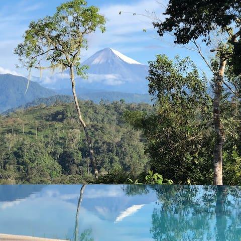 Cabaña en Macas-Ecuador | río Upano | Amazonia