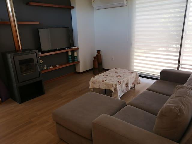 Casa minimalista para descanso en Carmelo