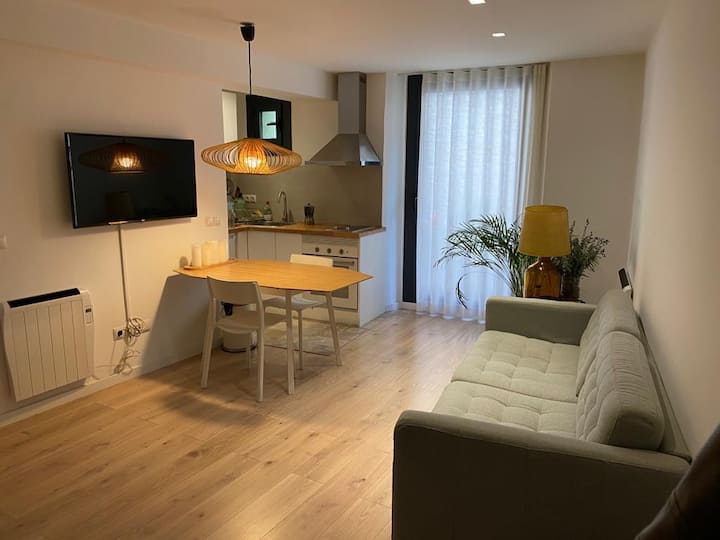 CozY New Private Loft, Garage,PK,Manresa Center :)