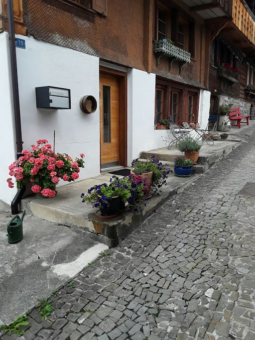 Entry of the apartment