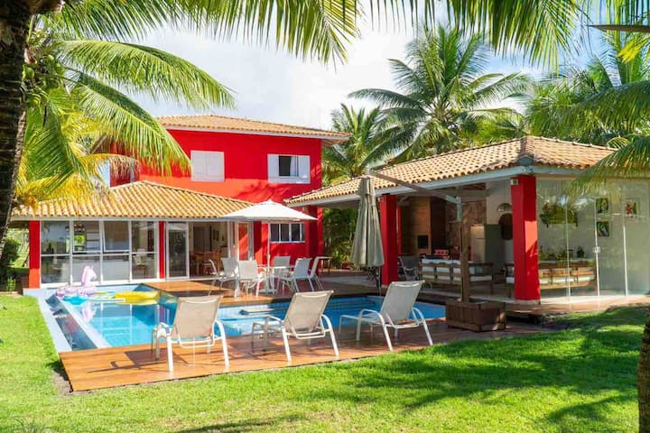 Casa Completa e Aconchegante na Costa do Sauípe