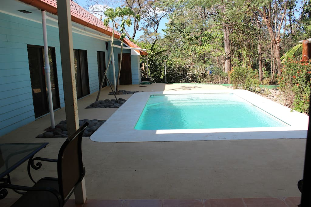 Great in ground warm pool