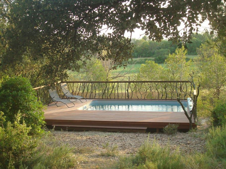 19km montpellier maison en campagne avec piscine maisons for Camping en languedoc roussillon avec piscine