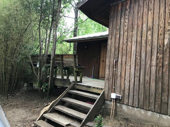 Cabaña en medio de la naturaleza y tranquilidad
