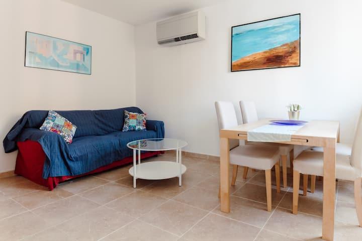 Acogedor apartamento en la playa de Comarruga.
