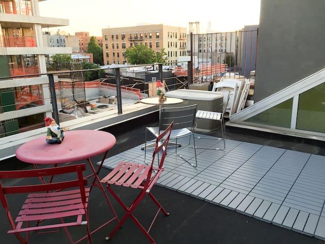 Rooftop overlook