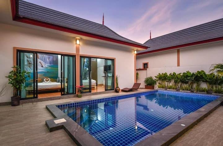 Krabi Mountain View Pool Villa, Relaxing house