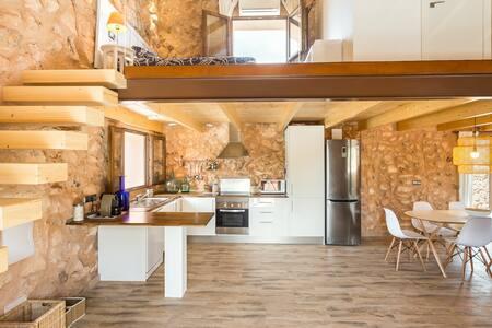 Modern Rustic Finca Algaida - Algaida - Casa