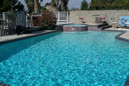 Private, one bedroom. HUGE house in the hills POOL - Moreno Valley