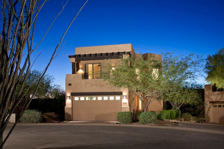 Troon North Golf Casitas 4 bedroom 4.5 bath single family home - Scottsdale - Hus