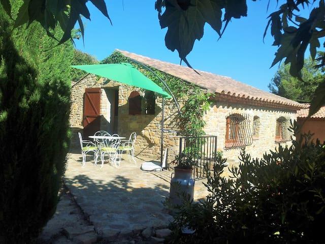 Petite maison de caractère + jardin Provence MER - La Cadière-d'Azur - Haus