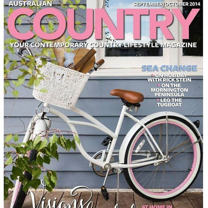 Our cottage featured in Australian Country Homes