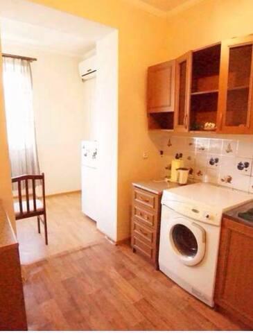 3 комнатная квартира у моря в центре Гагры!