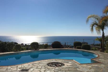 Hilltop View Villa Stunning Sea views FREE Wi-Fi - Pissouri - Vila
