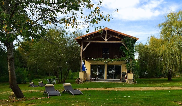 The Lake Cottage in Gascony France