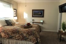 Another view showing how spacious and well appointed the room is. We have thought of everything