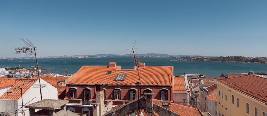 Home with a view over Lisbon