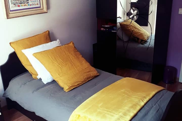 Beautiful room, quiet residence