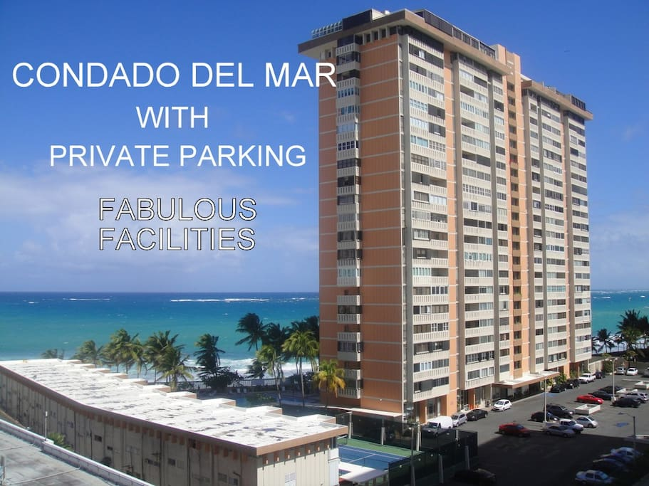Ideal beachfront location with the best amenities and direct beach access