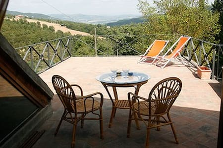 Honeymoon cottage + pool + tennis - Spedalicchio, Umbertide