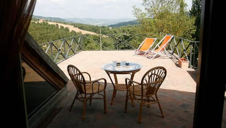 Honeymoon cottage + pool + tennis