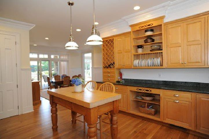 Beautiful Traditional Style In Bridgehampton - Water Mill - House