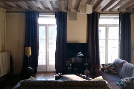 Bel appartement au cœur du quartier historique