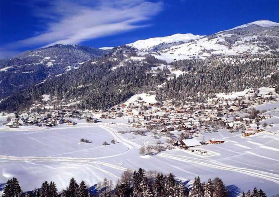 Winteransicht Dorf