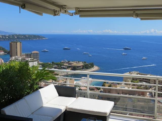 3 pièces,  terrasse vue mer monaco - Beausoleil - Apartment